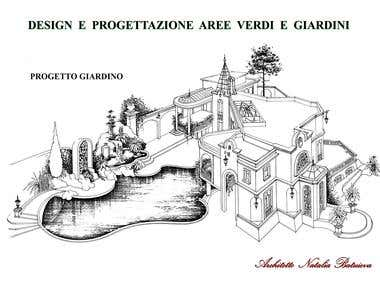 Architectural rendering. Illustrations. Hand Made Sketches.