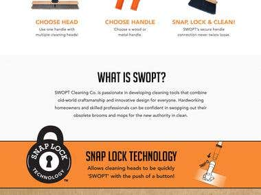 Swopt Cleaning PSD to Wordpress Theme