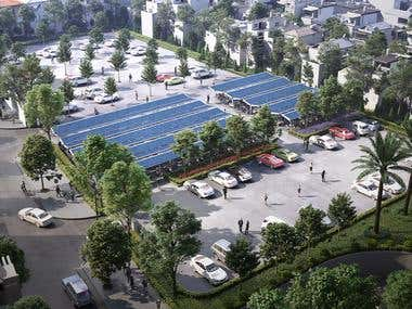 EVN complex Parking