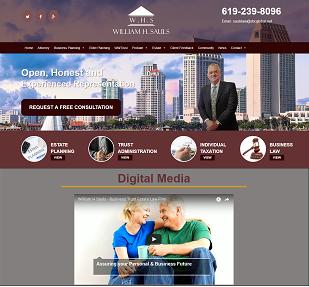 Business Lawyer website work(http://www.businesstrustattorn)