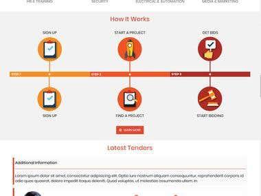 Html Responsive Website