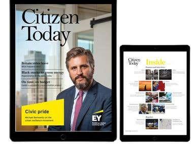 iPad/Interactive report