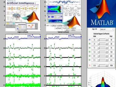 Data analysis, linear program, Simulink, GUI,Machine learnig
