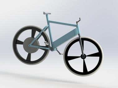 ebike frame design
