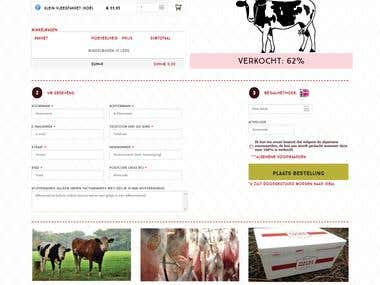 Halal Meatz - E-Commerce solution for Neatherland