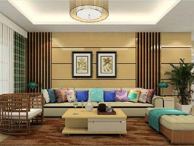 3D PHOTOREALISTIC INTERIOR DESIGN