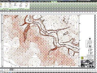 Topografic map 1:500