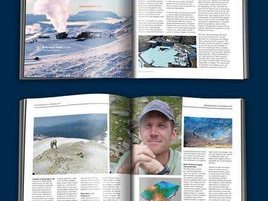 Think Geoenergy Magazine design