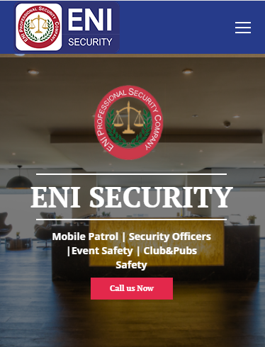 Website for Australian Security Company