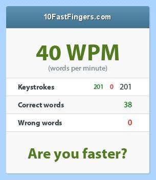 Fastest Fingers Certificate