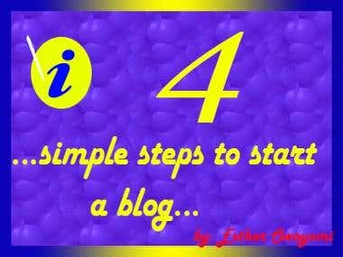 4 simple ways to start a blog