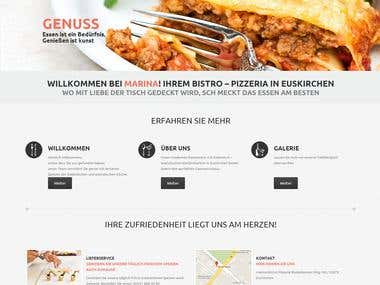 Restaurant  - Wordpress 3.9.1