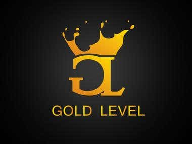 Luxury logo (GOLE LEVEL)