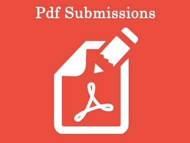 PDF SUBMISSION