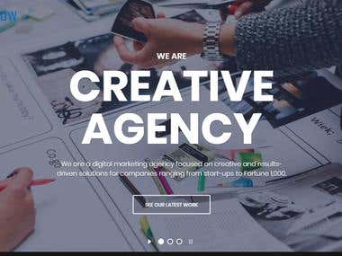 Development Agency Website