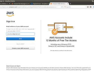 AWS (Amazon Web Services) Cloud Computing skill specialist