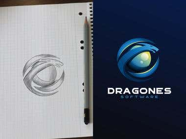 logo dragones software #2