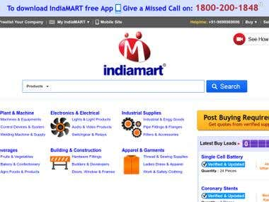 SEO QUality Check for Indiamart Intemesh Limited