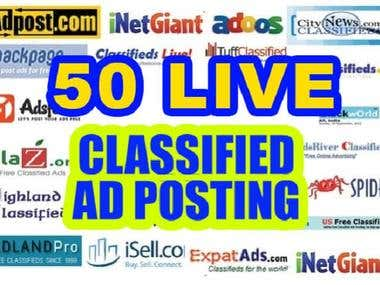classified ads posting