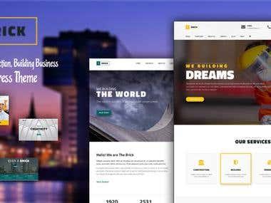 WordPress Responsive Website Template
