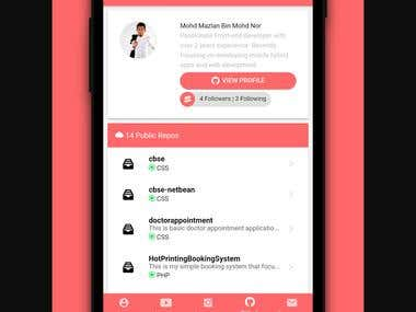 Android Social app