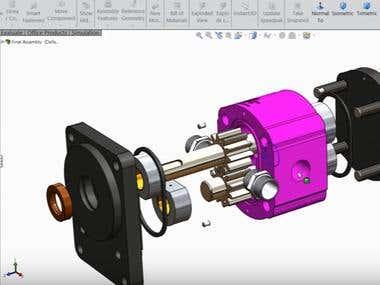 pump assembly design