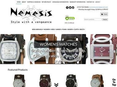 website --Nemesis Watch