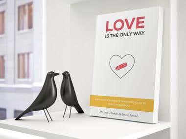 Selh-help book cover design
