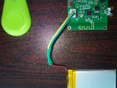 Bluetooth proximity tag using no smartphone