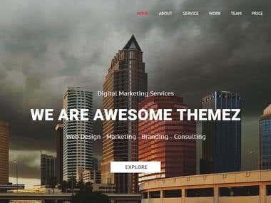 Corporate & Business Muse Website