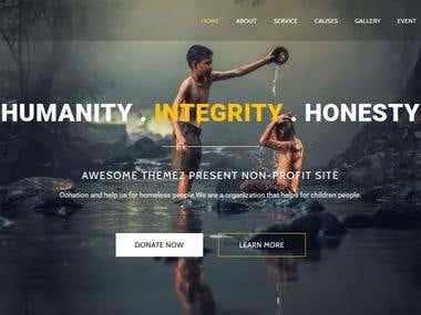 Non Profit/Charity Html Template