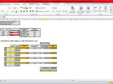 Revisión costos de obras y servicios/Review costs of works