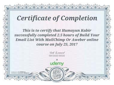 Online Professional Certificate