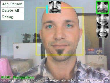 Face Recognition & Object tracking