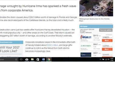 Tradução de um artigo da CNN sobre o furacão Irma