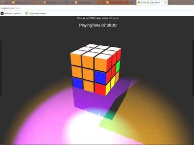 HTML5 3D Game