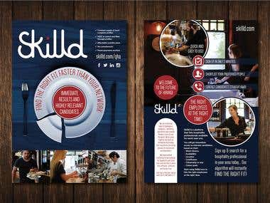Skilld Marketing Flyer