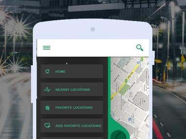 GPS Map Navigation and Transport: Destination App