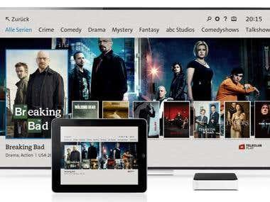 Swisscom TV Android BOX App