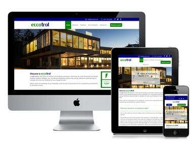 Eccotrol Building Systems Web Design