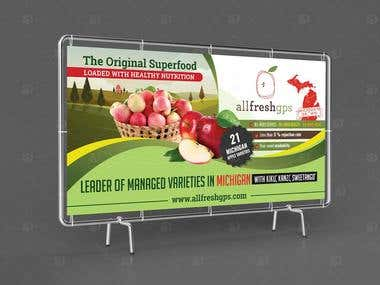 Signage Design for allfreshgps