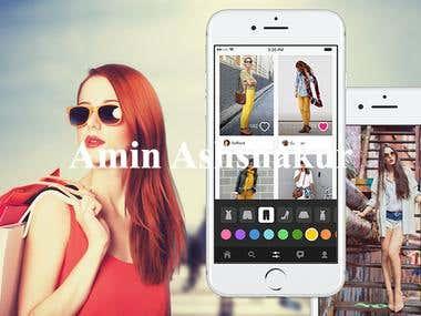 Woman Shopping App