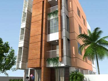 Residence design 3d Model