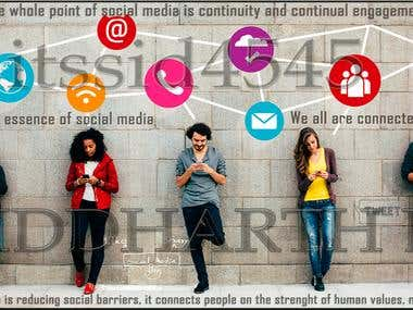 Social Media Presentation for a client