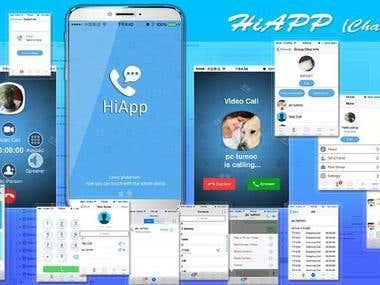 HiApp (Whatsapp-Style)