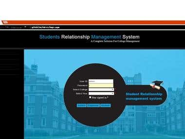 student management system.