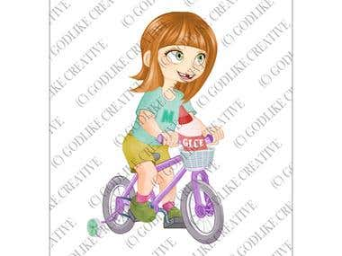 Children Book Character Illustration