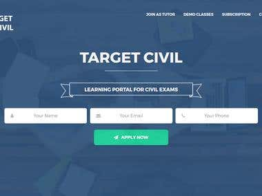 Target Civil - Learning Portal for Civil Exams