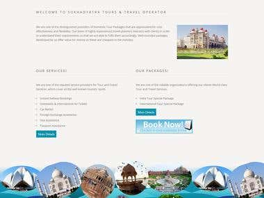 PHP Website: Welcome to sukhadyatra Tours