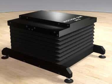 VR motion simulator / mechatronics project.
